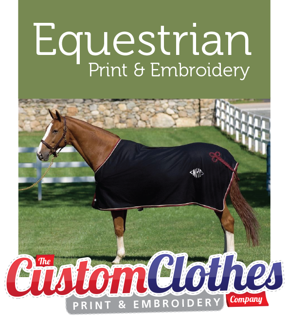 Equestrian Product Embroidery Service Based In Ashford Kent